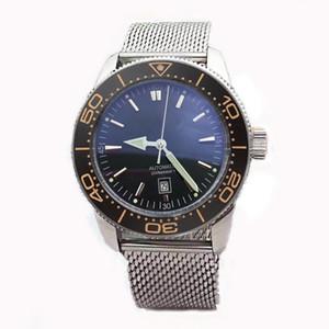 New Luxusuhr mens montres design RELOJES montre mécanique automatique Herrenuhr INOX 46mm Montres-bracelets Montre Automatique