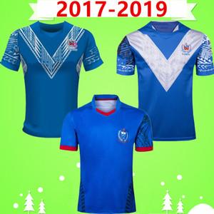 2017 2019 Samoa RUGBY LEAGUE JERSEY nazionale di rugby casa Corte Away gioco BLU 17 19 camicia di Lega maglietta di POLO MENS Word Cup