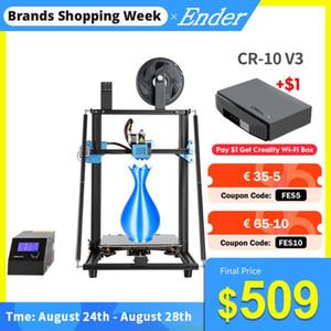 CR-10 Printer V3 3D Silencioso Motherboard Resume Printer Printing Taitan Direct Drive tamanho grande impressão MW CREALITY 3D