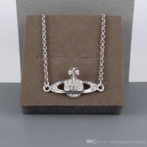 Las mujeres del Rhinestone Orbit pulsera de Bling Bling planeta orbe cadena de joyería de la pulsera regalo de la manera Accesorios Oro Plata