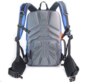 -Leaf camera sac à dos sac à dos anti-vol avec une capacité d'ordinateur portable de 15 '' pour DSLR SLR