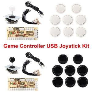 PC Video Game Controller USB Encoder Joystick Kit DIY Set Video Game Machine Accessory Bundles Kit Part Entertain With 8 Button