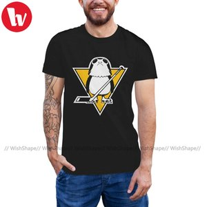 Porg Camiseta Porg Limitied T-shirt Plus Size Homens camiseta de manga curta engraçado Imprimir clássico 100 Cotton T-shirt
