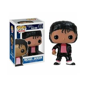 Famosa estrella del pop Michael Jackson figuras de acción juguetes muñeca de PVC Música Acción Superstar muñeca Modelo Juguetes para niños regalo 5 Estilos
