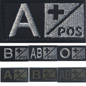 Accessoires Nouveau Sac en tissu nylon Accessoire joint sanguin de broderie A ++ AB + O + tissu en nylon magique Seal