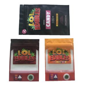 2020 новых LOL съестной упаковка ПАГОВ Пустого LOL съестного 500мг Майларовых молнии сумка запахла доказательство розничных упаковывать медикаментозные Джунгли Мальчики Сумки