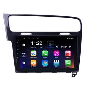 10,1-Zoll-Android 10.0 Auto-DVD-Spieler GPS-Navigation für 2013-2015 VW Volkswagen Golf mit Bluetooth WIFI GPS Navigation
