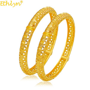 2pcs / lot gioielli di moda indiana Bollywood Oro Colore nuziale del braccialetto del Combo Set MY48