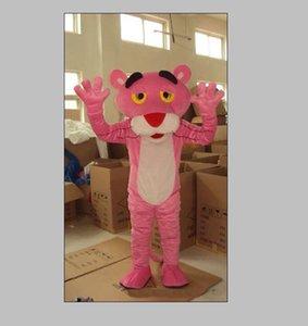 2019 chaud tout neuf Custume fait taille adulte rose mascotte panthère rose costume de mascotte Panther