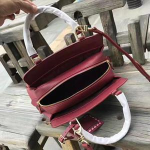 Дизайнер-2018Wholesale New Orignal реальной натуральной кожи леди сумка моды ранец сумка сумка