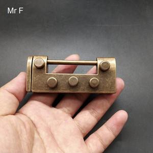 Новизна Simple Metal Cast Puzzle Блокировка пересобираться Игры разума мозга Пазлы Игрушки Детские