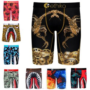 Fashion Men Boxer Sport Underwear Quick Dry Breathable Mens Boxers Graffiti Printing Shorts Leggings Women Beach Swim Trunks Pants Gifts INS