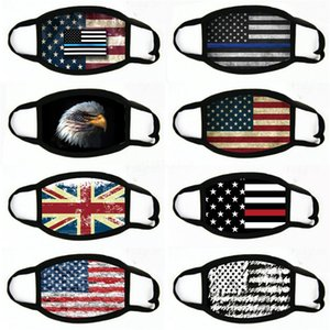 Outdoor Sports Mexican American USA National Flag Magic Protective Mask Fashion Cyclings Masks For Riding#196