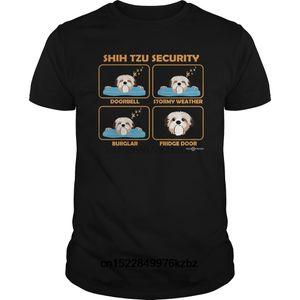 Lustige Männer-T-Shirt Frauen-Neuheits-T-Shirt Shih Tzu Hemd Shih Tzu Sicherheit Funny Shih Tzu Geschenk Cool T-Shirt