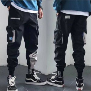 Марка Дизайнер Streetwear Mens несколько Карманов Cargo шаровары Hip Hop Casual Male Track Pants Joggers брюки мода Harajuku Мужчины Брюки