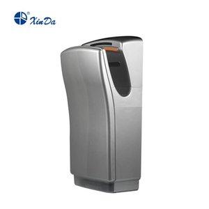 El xinda GSQ 80 ABS Silver BLDC Secador de Mano Profesional Secador de Mano Automático Sensor de infrarrojos con filtro de aire Fibra y Tanque de Agua