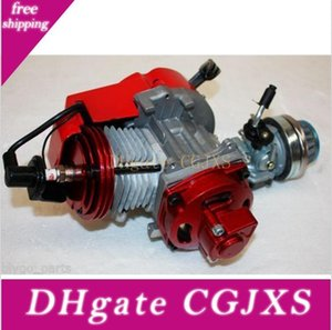Performance Racing Red 49cc 2 Stroke Engine Мотор Карманный мини Quad Dirt Bike Atv