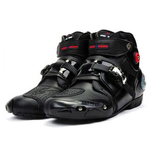 Riding Tribe Microfibre Motorcross Riding Chaussures Course de motos de protection Bottines anticollision antidérapante 2020New A9003
