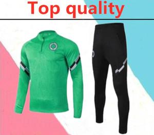 2020 Nigéria adultos chándal Surtvetement 2020 2021 Nigéria jogging maillot de entrenamiento de fútbol chaqueta de traje