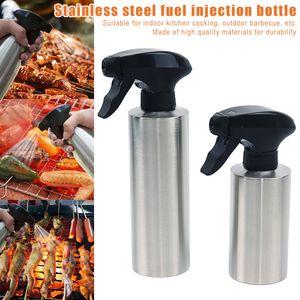 Storage Bottles & Jars Stainless Steel Oil Spray Bottle Sprayer Portable For Kitchen BBQ Cooking Camping KSI999