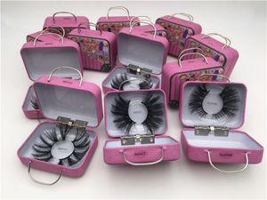 2020 NOUVEAU 20 styles 100% mink cils 25 mm de faux cils moelleux fastidieux 5d maquillage gros volume crissique réutilisable faux cils extensions