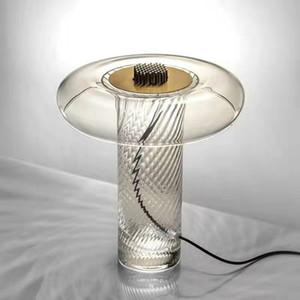 newest clear glass modern table lamp desk light reading light nordic latest design LED lamp E27