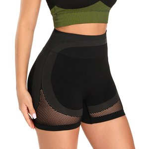 Wmuncc femmes sans couture Gym Yoga Shorts Collants Workout Running High taille Leggings Fitness exercice Active Wear