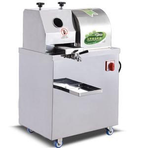ce Otomatik şeker kamışı suyu sıkacağı Paslanmaz Çelik Elektrik Şeker kamışı Sıkacağı Makinesi 3 veya 4 Silindirler Şeker kamışı suyu basınla