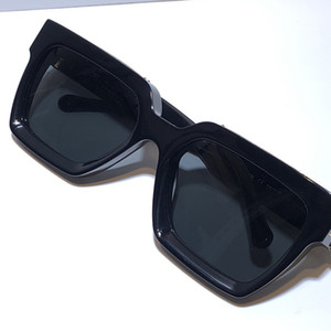 Milyoner erkekler Parlak Altın Sıcak satmak Altın kaplama En kaliteli 1.1 Güneş gözlüğü 96006 tam çerçeve Vintage 1165 sunglasses