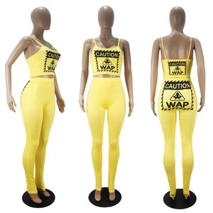Sıcak Satış ucuz Kadınlar Yoga joging Sütyen Pantolon Eşofman İki adet polyester Casual Sport Wear Seti Loungwear yazdır