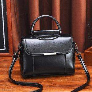 Yeni Retro kadın çantası Kore moda tek omuz haberci çantası kadın çantası çanta deri çanta seyahat