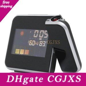 Reloj alarma digital color de la pantalla de proyección de múltiples -Función de alarma del tiempo del reloj de tiempo del reloj de reloj de escritorio de alta calidad Pantalla Lcd