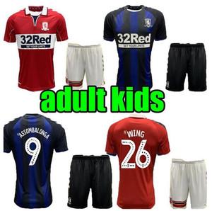 MIDDLESBROUGH de Futebol 2020 2021 MEN + KIDS Ashley Michael Fletcher FLINT