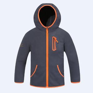 Boys Jackets Casual Boy Outerwear Coats Kids Sports Windbreaker Polar Fleece Hoodies Jacket Children Thick Zipper Outwear Jacket