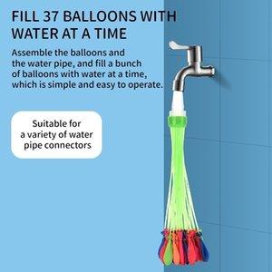 Fun Water Globos Latex Colorido Water Balloon Summer Playa Juguete Fácil Relleno Con Agua Juguetes De Verano