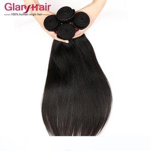 Vendita calda Bundles modo di visone del Virgin del brasiliano di estensioni dei capelli umani brasiliani poco costoso tessuto dei capelli Bundles 8a Grado umana Braiding Hair Styling
