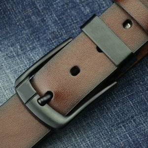 New 2020 designer belt Pin Buckle leather belts for men Luxury mens designer belts good quality waist belt