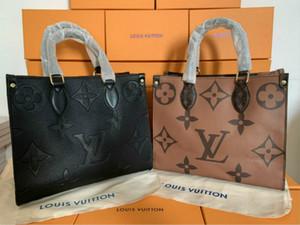 design di lussoLVLOUISVUITTONBorse Moda Retro etnica del modello di stile di tela di canapa di ricamo a mano Shopping Bag