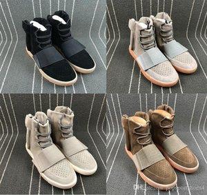 2019 Nova Prateleiras Chegada 750 Impulso Running Shoes Chocolate Light Gray Preto Brown preto brilhante OG Fashion Street Sports Shoes