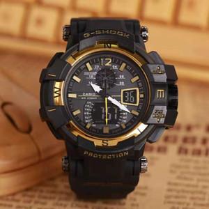 G hombres del estilo Digital reloj Top para hombre Relojes de marca impermeable luminoso reloj electrónico de pulsera Relogio hombres.