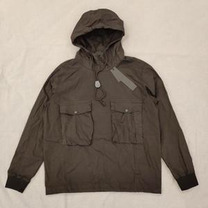19SS GHOST PIECE SMOCK / ANORAK Baumwolle Nylon TELA Pullover Jacke Männer Frauen Mäntel Mode Windjacke Jacken Oberbekleidung