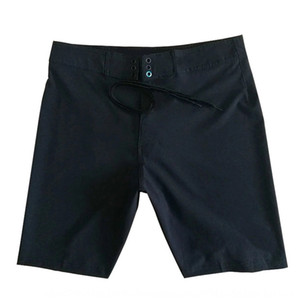Été pantalon pur shorts de plage pantalons de plage de séchage rapide des hommes noirs mer casual plaque coréenne hot-vente shorts de bain troncs