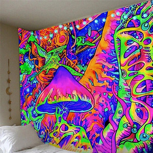 3D wall hanging Tapestry Hippie Wall Hanging Wandkleed Tapestry Fabric Beach Cloth Rug boho decor