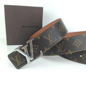 2YO0 Mode Gürtel ein Dener Brief Gürtel 3.8cm Breite Gurte für Herren und Damen Klassische Band mit Box-Bund