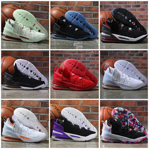 18 XVIII James Gang Çocuklar Jumpman Basketbol Ayakkabı James KD Askerler XVIII Spor Ayakkabı Trainer Ayakkabı Boyut 4-12
