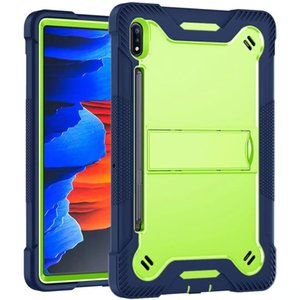 For Ipad 7th Generation 10.2 inch (2019) With Kickstand And Pencil Holder Design Shockproof Anti Fall Protective Tablet Case Cover