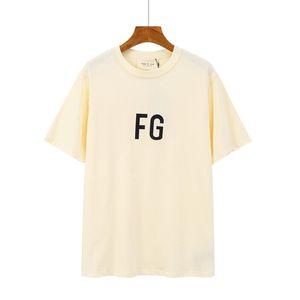 2020 FFOG T-Shirt FEAR AUS GOTT ESSENTIALS BOXY Photo T-Shirts Übergrößen T-Männer Frauen-Qualitäts-Baumwoll-T-Shirt d10
