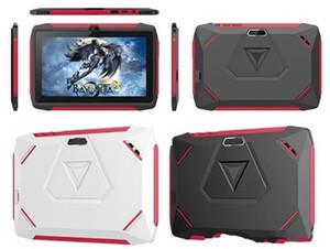 Bluetooth wifi toptan 2020 SICAK çocuk Tablet PC Q98 Dört Çekirdekli 7 inç 1024 * 600 HD ekran, Android 9.0 AllWinner A50 gerçek 1GB RAM 16GB Q8