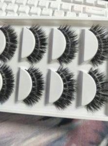 200boxes Eyelashes Fur Friendly Styles Crisscross False Eyelash Hand Made Eye Lashes beauty