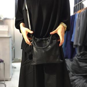 NIUBOA Damen Handtaschen Weiche echtes Leder-Schulter-Beutel-weibliche beiläufige Messenger Feminina Luxus Schaffell Designer Bolsos Sac